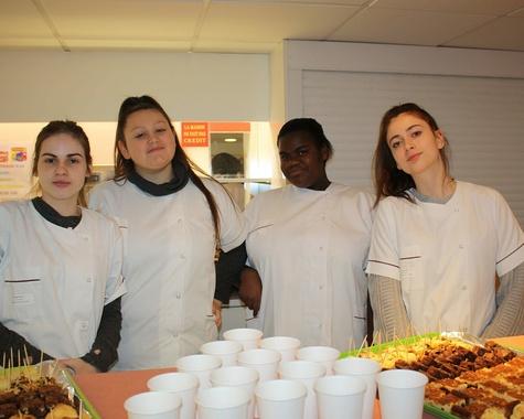 Inauguration de la cafétéria du lycée
